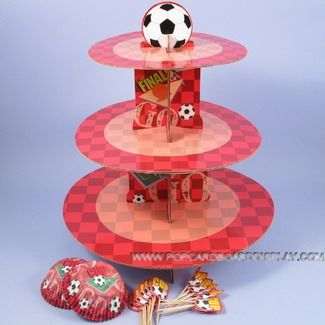 3 tier cupcake stand for retail