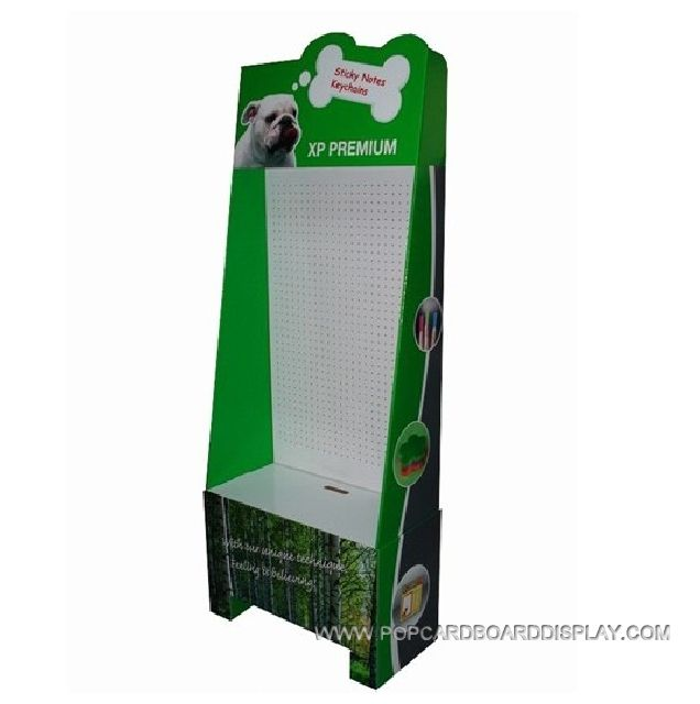 advertising corrugated paper hanging display stand
