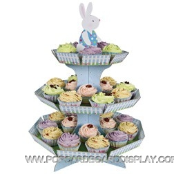 cute Bunny cupcake stand for birthday