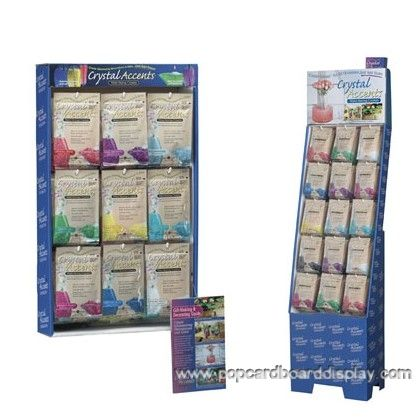 fashion cardboard retail peg hook display