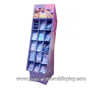 dog food promotion compartment display stand