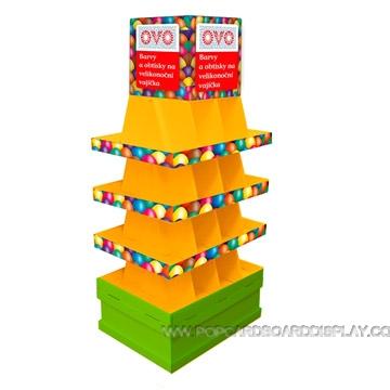 toy car large pallet display rack