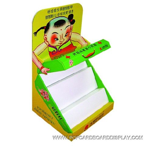 cartoon promotion cardboard counter box