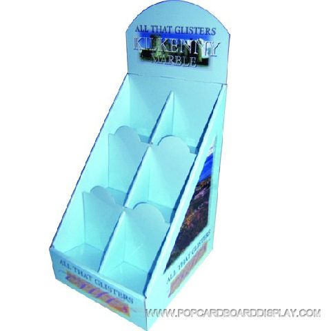 hairdressing product corrugated counter display box