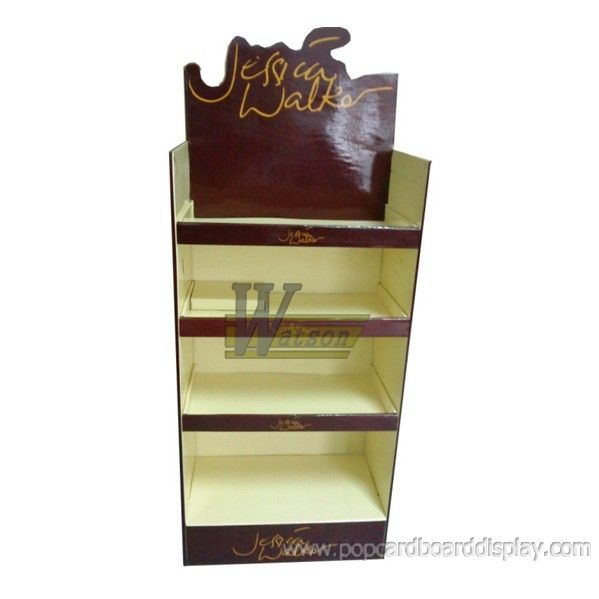 red wine promotion cardboard display racks