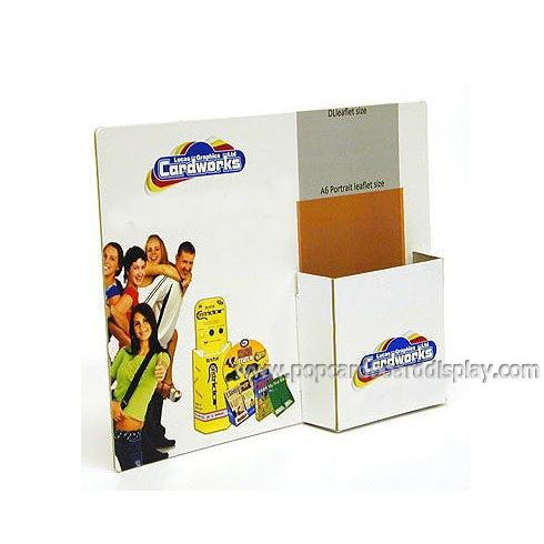 POP advertising promotion cardboard counter display stands ...