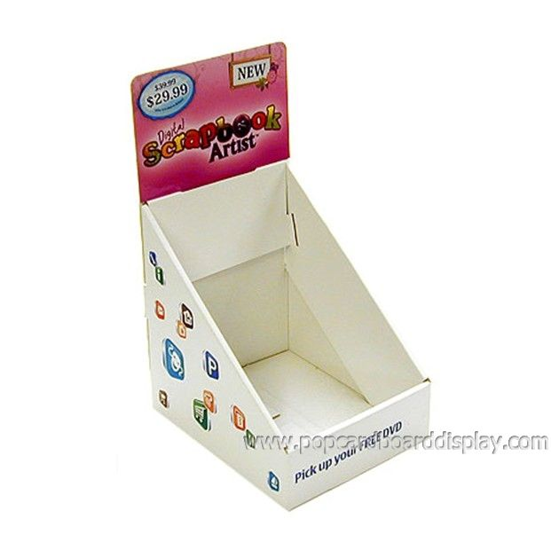 notebook retail cardboard display box,corrugated cardboard display case