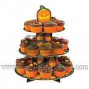 Attractive cupcake stand for Halloween